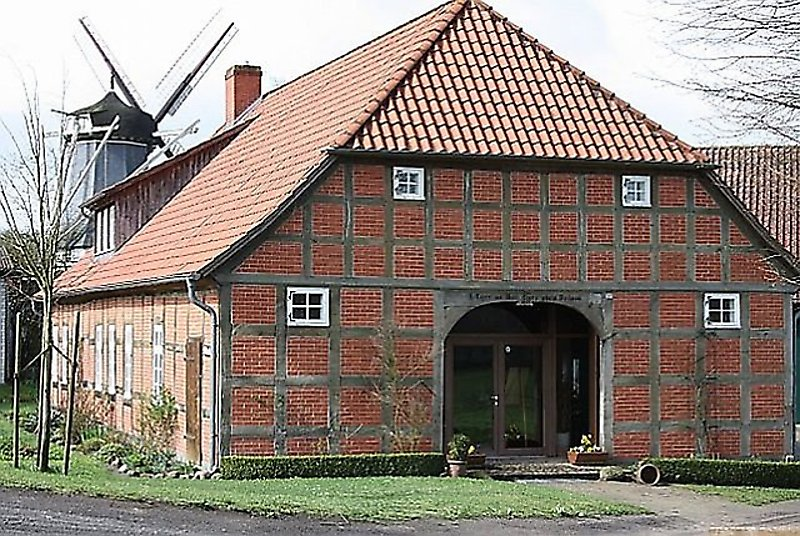 Das Müllerhaus im Frühling